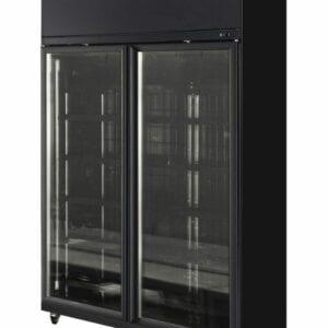 Two Door Display Freezer - Elegance