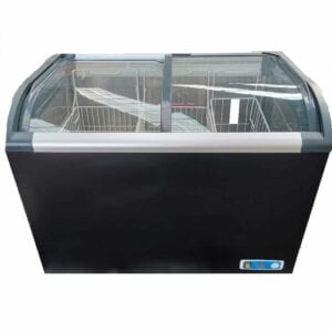 CF-320 Curved Top Display Chest Freezer