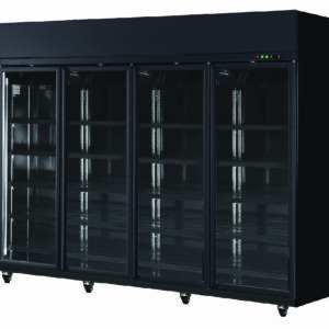 Four Door Display Freezer (BLACK)
